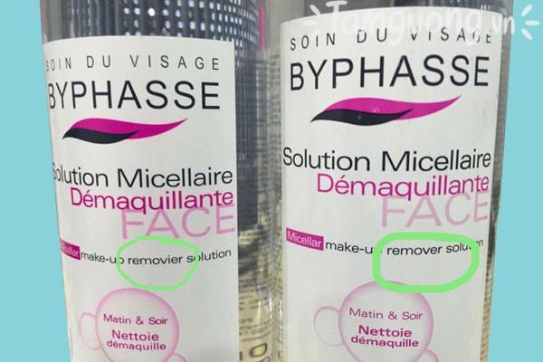 Nước tẩy trang Byphasse Fake