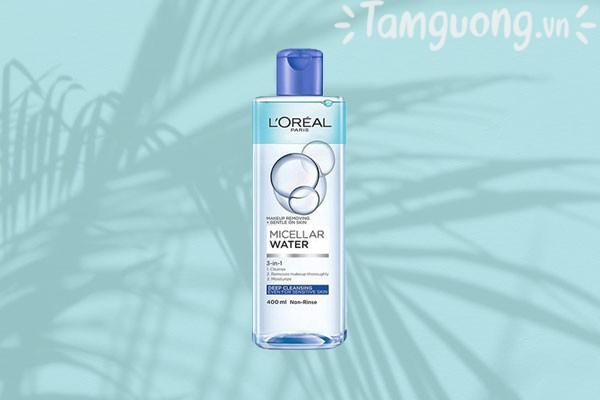 Sản phẩm nước tẩy trang L'Oreal Paris Micellar Water 3 in 1 Deep Cleansing
