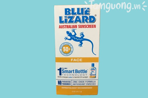 Review kem chống nắng Blue Lizard for Face SPF 30