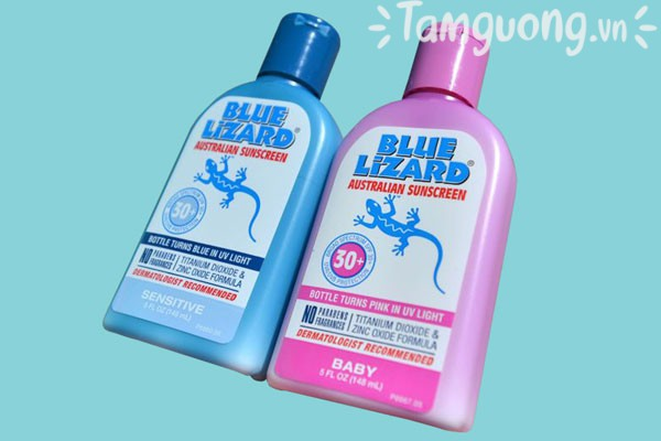 Kem chống nắng Blue Lizard có những loại nào?