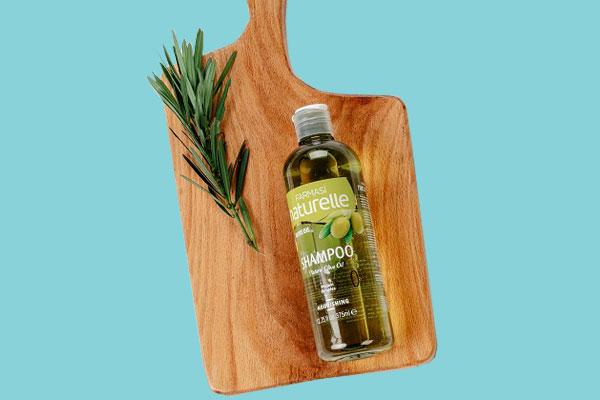 Dầu gội chiết xuất Oliu Farmasi Naturelle Olive oil 375ml