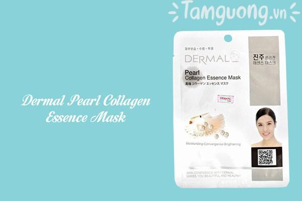 Mặt nạ dưỡng ẩm ngọc trai - Dermal Pearl Collagen Essence Mask