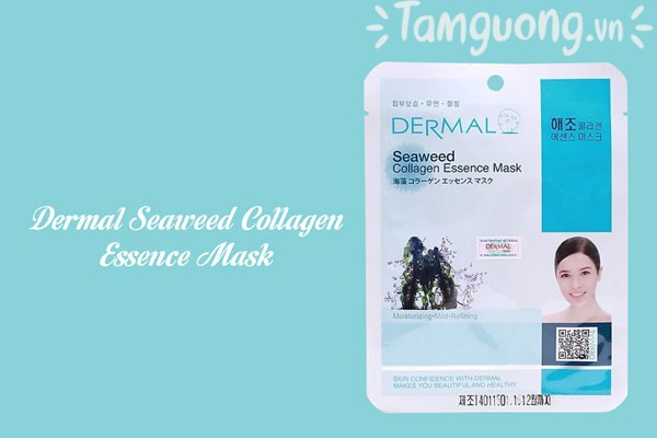 Mặt nạ Dermal tảo biển - Dermal Seaweed Collagen Essence Mask