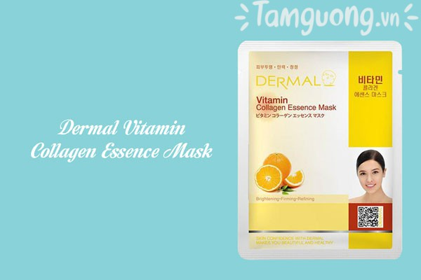 Mặt nạ dưỡng da Dermal Vitamin Collagen Essence Mask