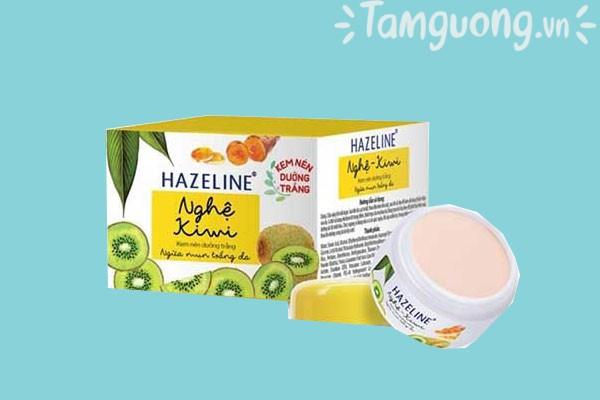 Kem dưỡng trắng da Hazeline nghệ và kiwi