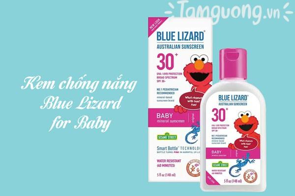 Thành phần kem chống nắng Blue Lizard