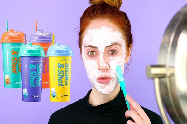 Mặt nạ Dr Jart Shake Shot Rubber Mask thiết kế