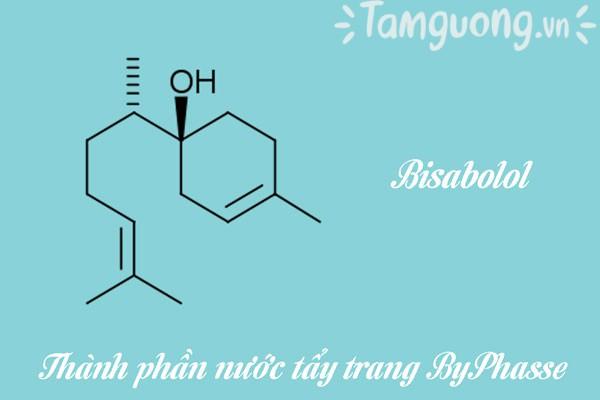 Thành phần nước tẩy trang ByPhasse: Bisabolol
