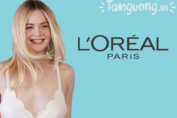 L'Oreal là thương hiệu được yêu thích trên toàn thế giới, được một loạt minh tinh như Elle Fanning, Karlie Kloss...