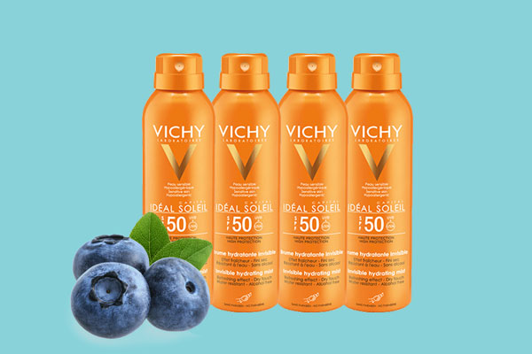 Xịt chống nắng SPF50 Vichy