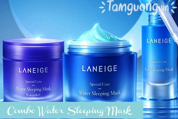 Bộ mặt nạ ngủ dưỡng ẩm Laneige Water Sleeping Mask