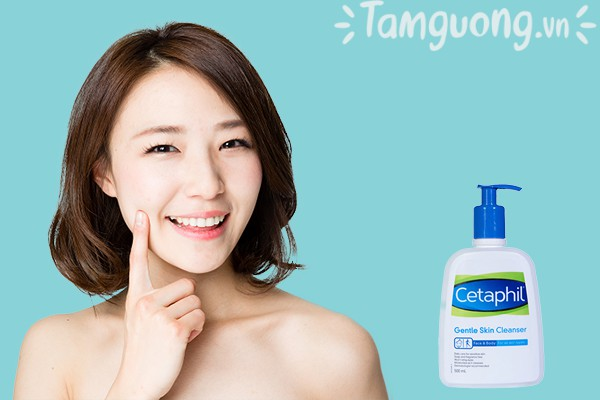 Công dụng của sữa rửa mặt Cetaphil Gentle Skin Cleanser