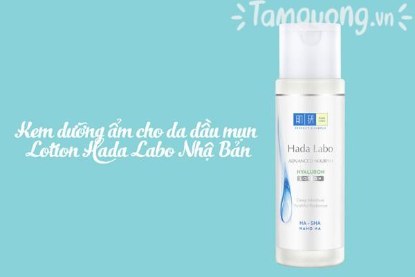 Kem dưỡng ẩm cho da dầu mụn của Nhật Lotion Hada Labo