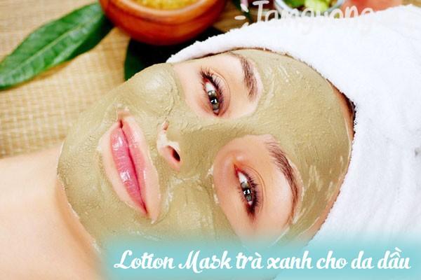 Lotion Mask trà xanh cho da dầu