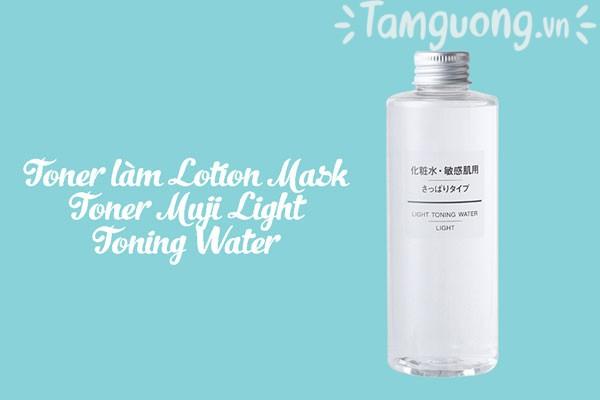 Toner (nước hoa hồng) nào làm Lotion Mask Muji