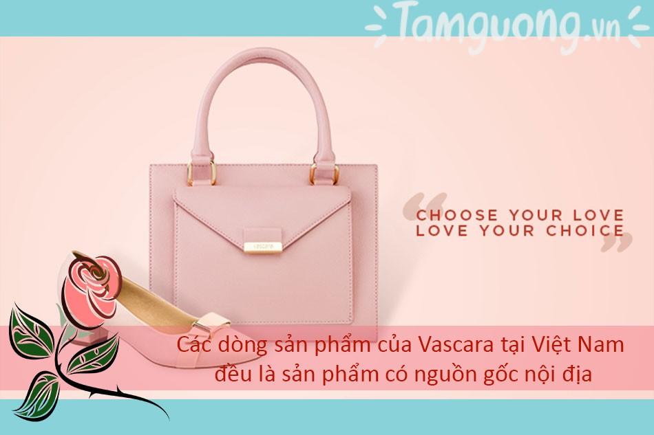 Các dòng sản phẩm của Vascara tại Việt Nam đều là sản phẩm có nguồn gốc nội địa