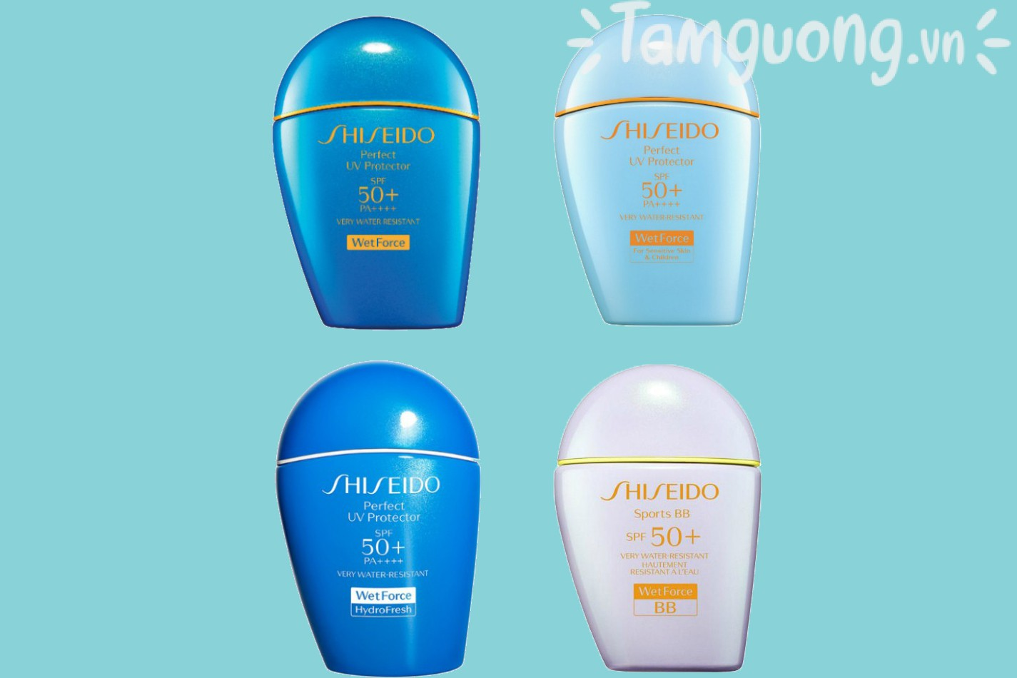 Kem chống nắng Shiseido Nhật Bản