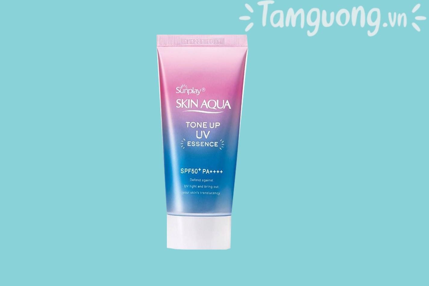 Kem chống nắng Skin Aqua cho da mụn