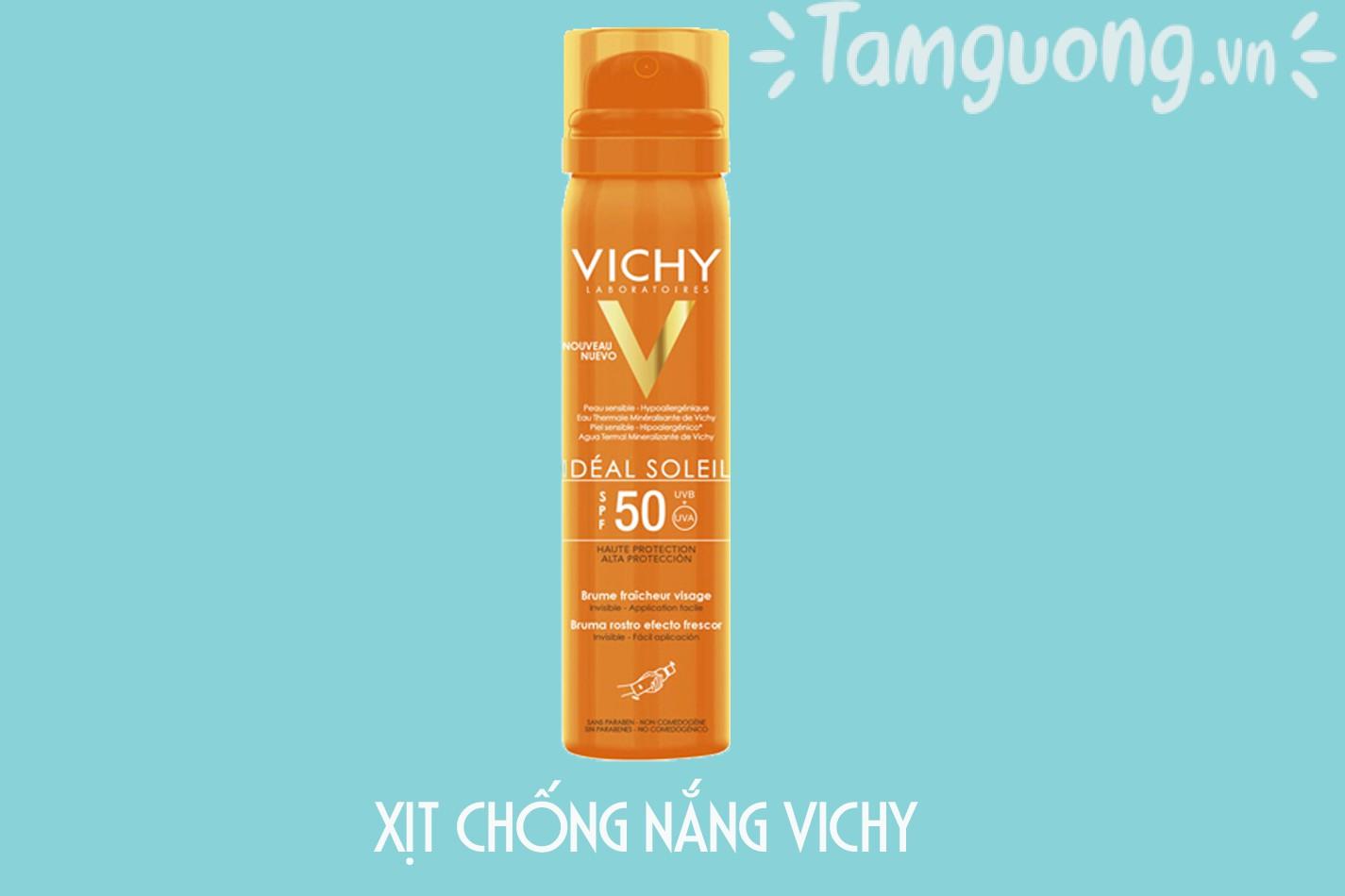 Kem chống nắng Vichy dạng xịt