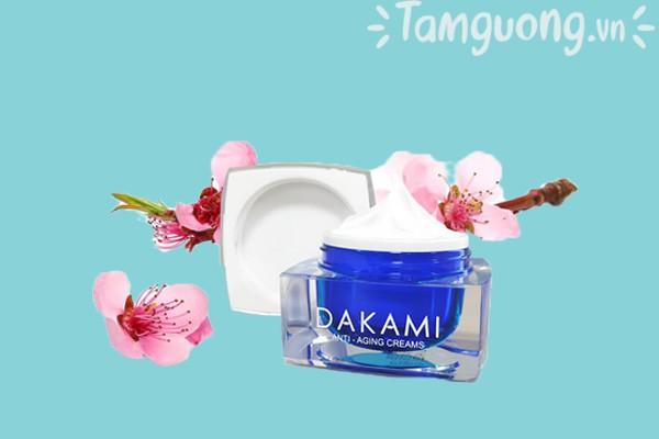 Thành phần kem chống lão hóa Dakami