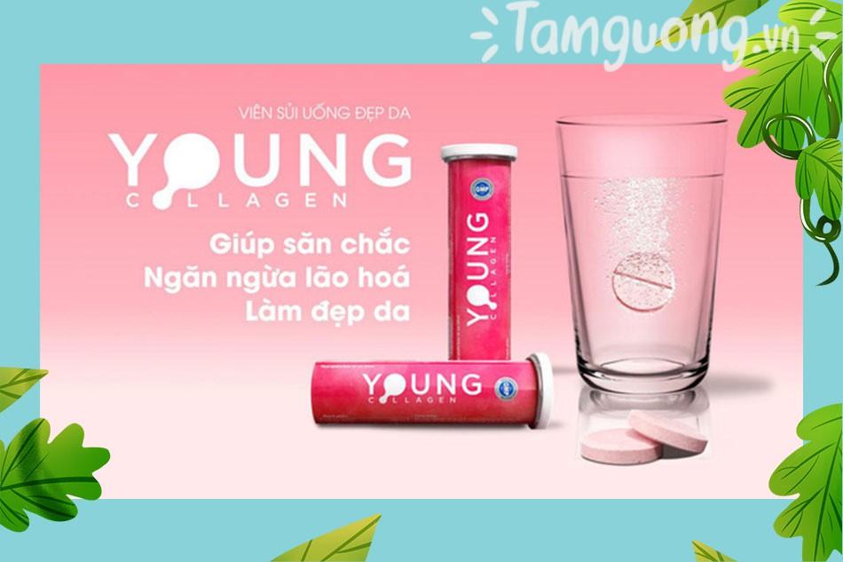 Công dụng của viên uống Young Collagen