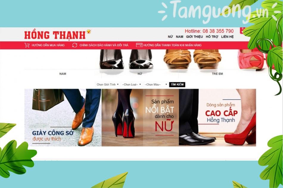 Cửa hàng online giày Hồng Thạnh