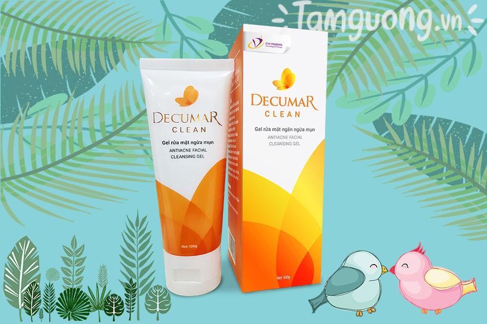 Gel rửa mặt Decumar Clean