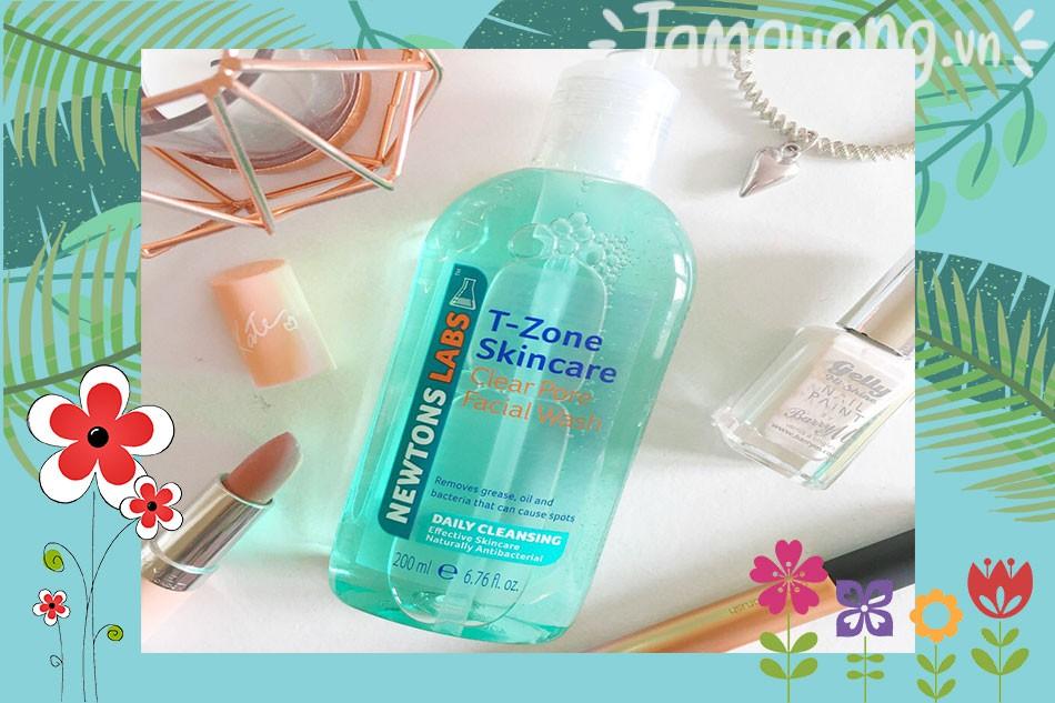 Gel rửa mặt tinh chất tràm trà T-zone Clear Pore Facial Wash Daily Cleansing