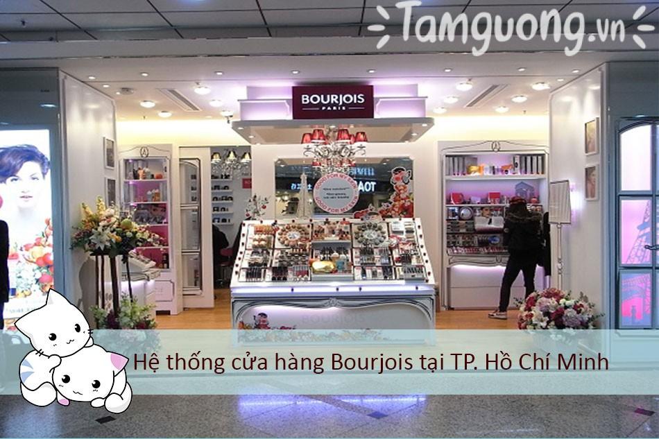 Hệ thống cửa hàng Bourjois tại TP. Hồ Chí Minh