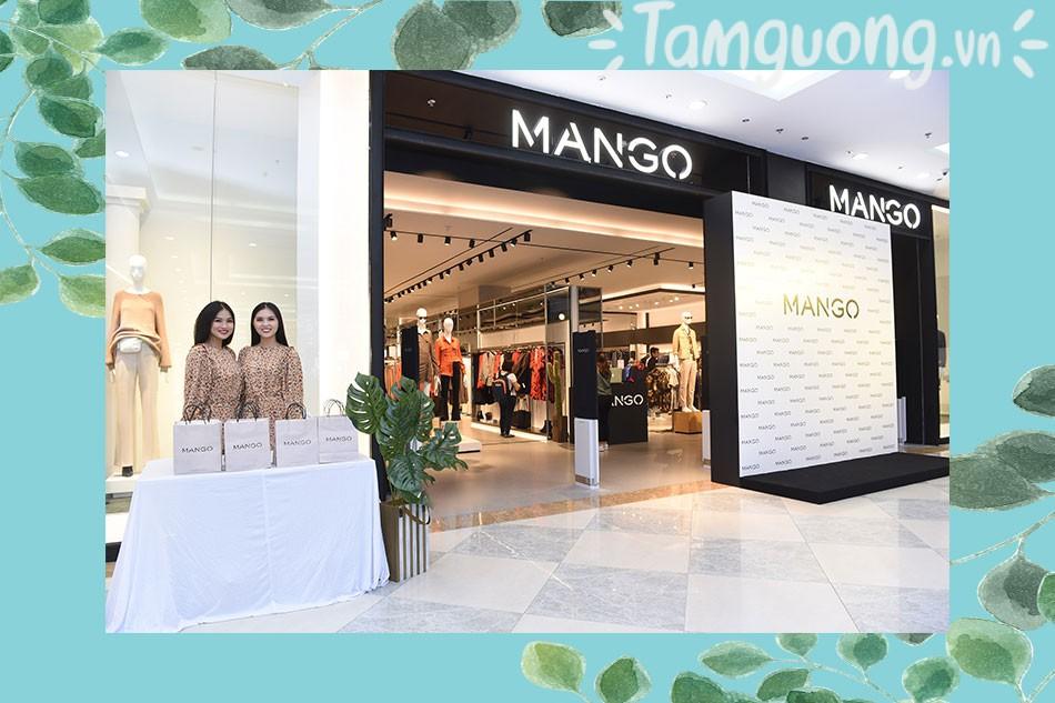 Hiện nay Mango đã phân phối tại nhiều cửa hàng khác nhau