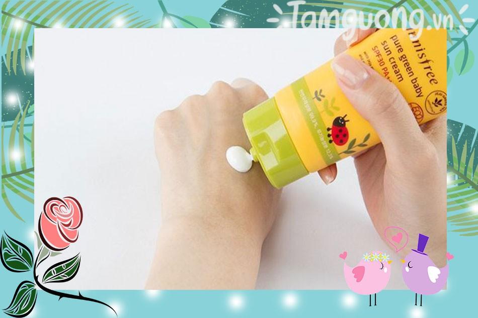 Kem chống nắng Innisfree Pore Green Sun Cream SPF 30 PA+++