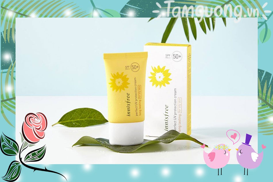 Innisfree UV Perfect UV Protection Cream Long Lasting For Dry Skin