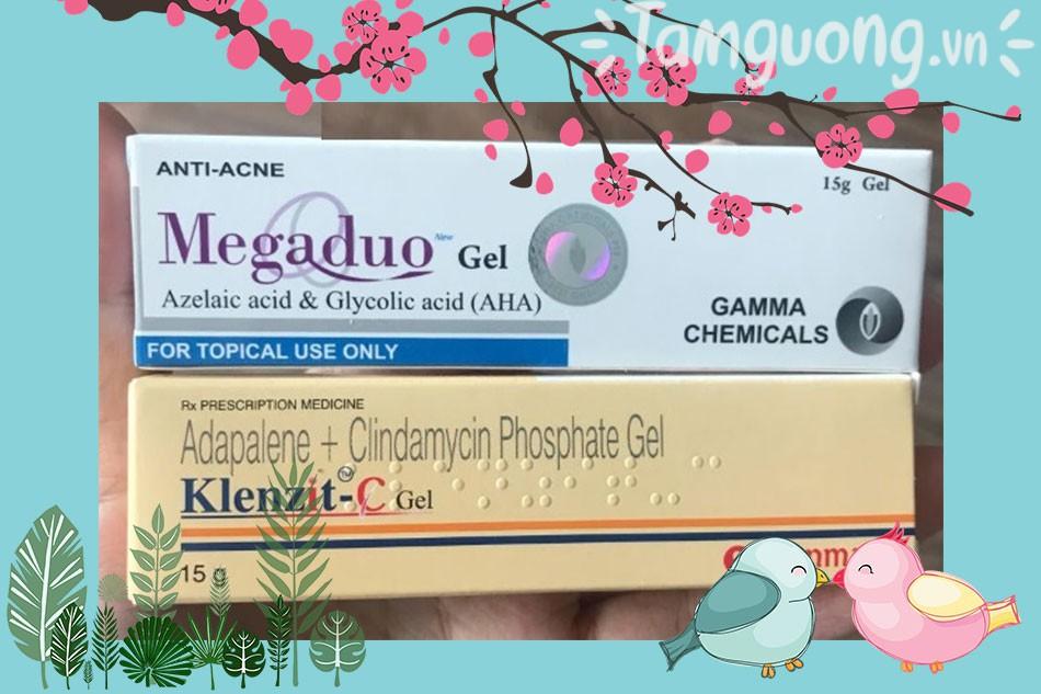 Klenzit C trị mụn và Megaduo thuốc nào tốt hơn?