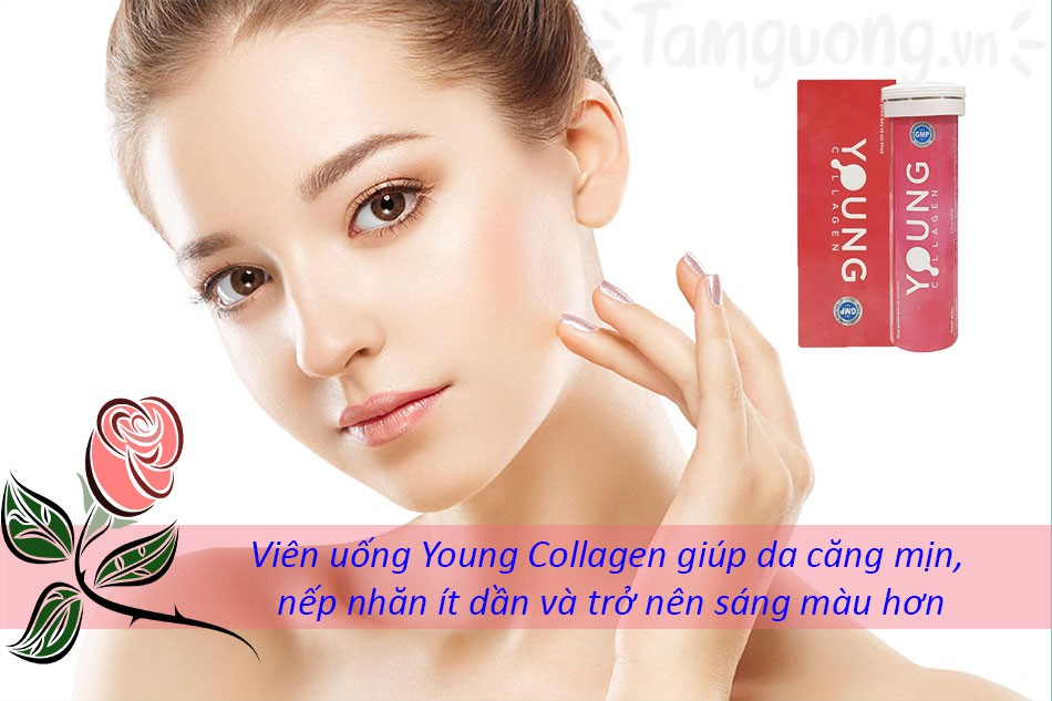 Một số review về Young Collagen