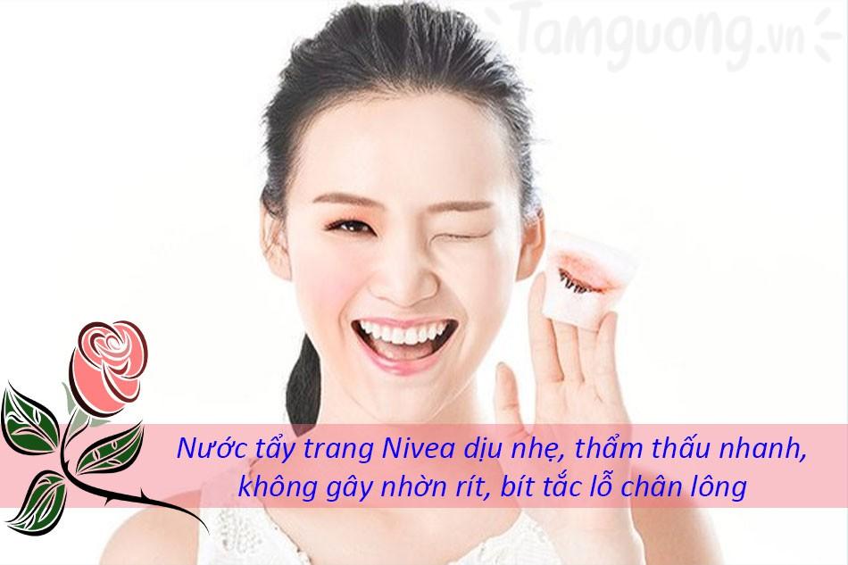 Nước tẩy trang Nivea an toàn với da của bạn