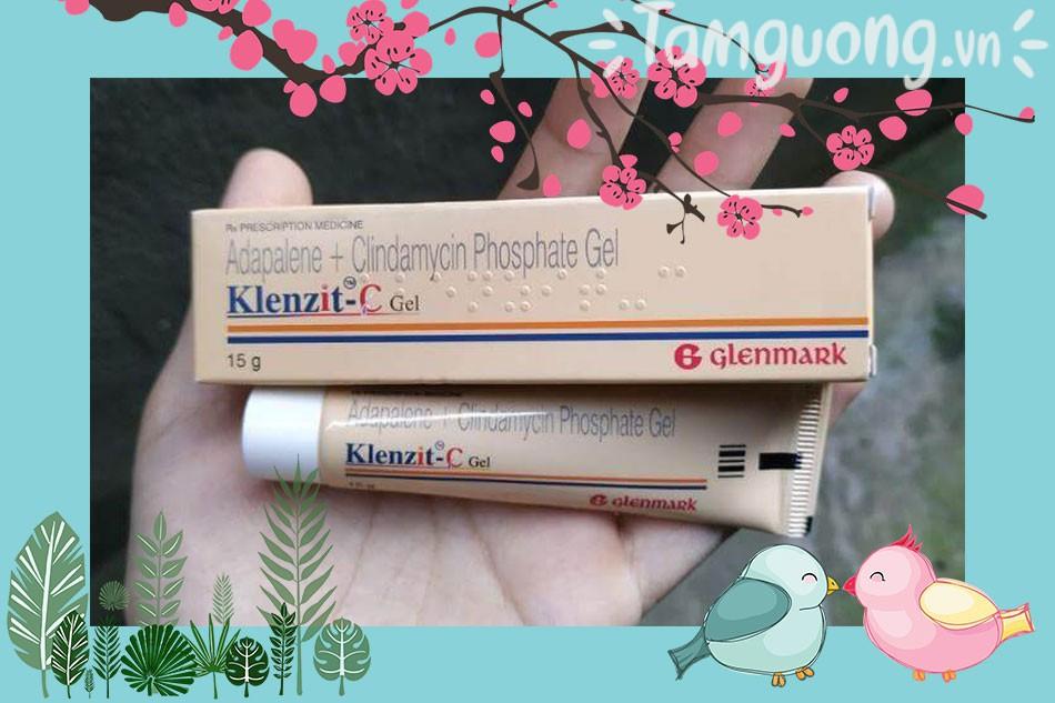 Review thuốc trị mụn Klenzit C gel
