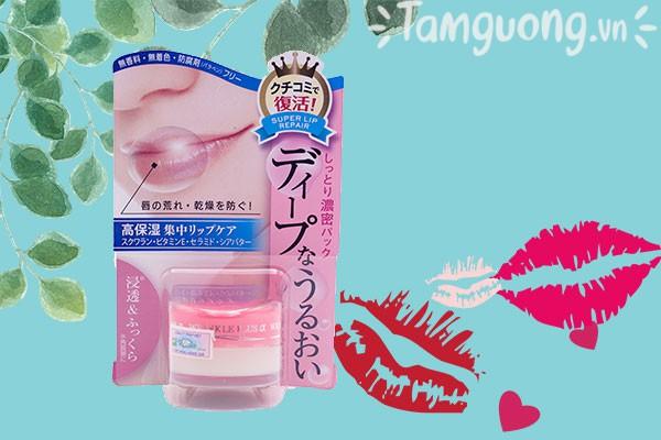 Son dưỡng môi Naris Wrinkle Plus Alpha Super Lip Repair