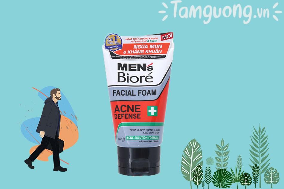 Sữa rửa mặt Biore For Men