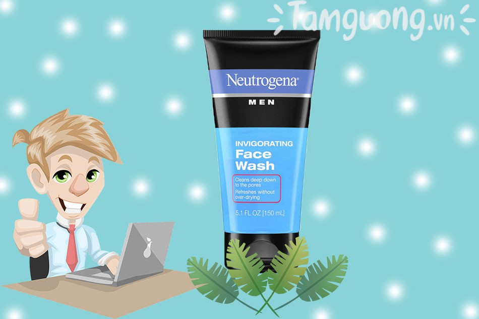 Sữa rửa mặt dành cho nam thương hiệu Neutrogena