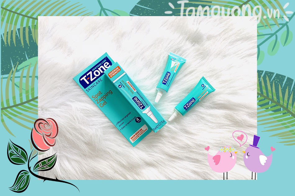 T zone Skincare Spot Zapping Gel
