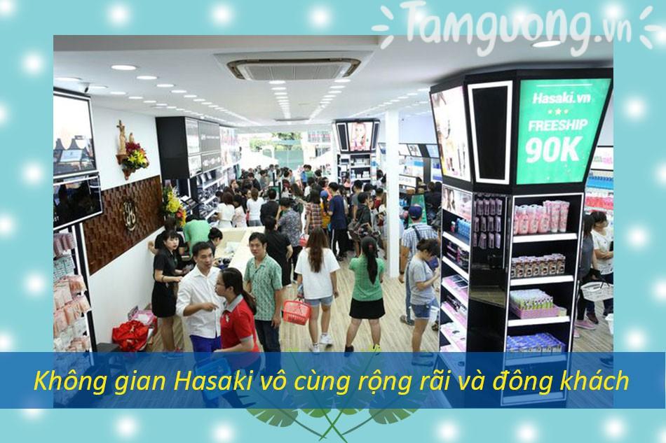 Trảinghiệm mua hàng tại Hasaki