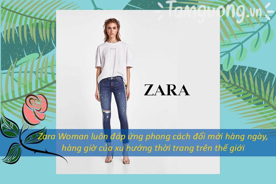Zara Woman luôn bắt kịp xu hướng thời trang thế giới