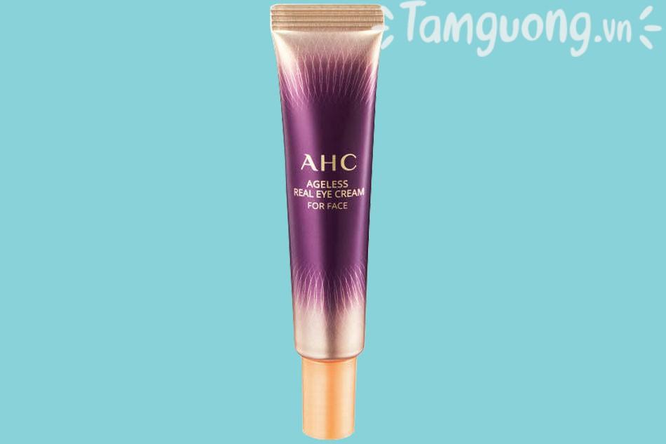Kem Dưỡng Mắt AHC Ageless Real Eye Cream For Face - Kem Dưỡng Mắt AHC Tím