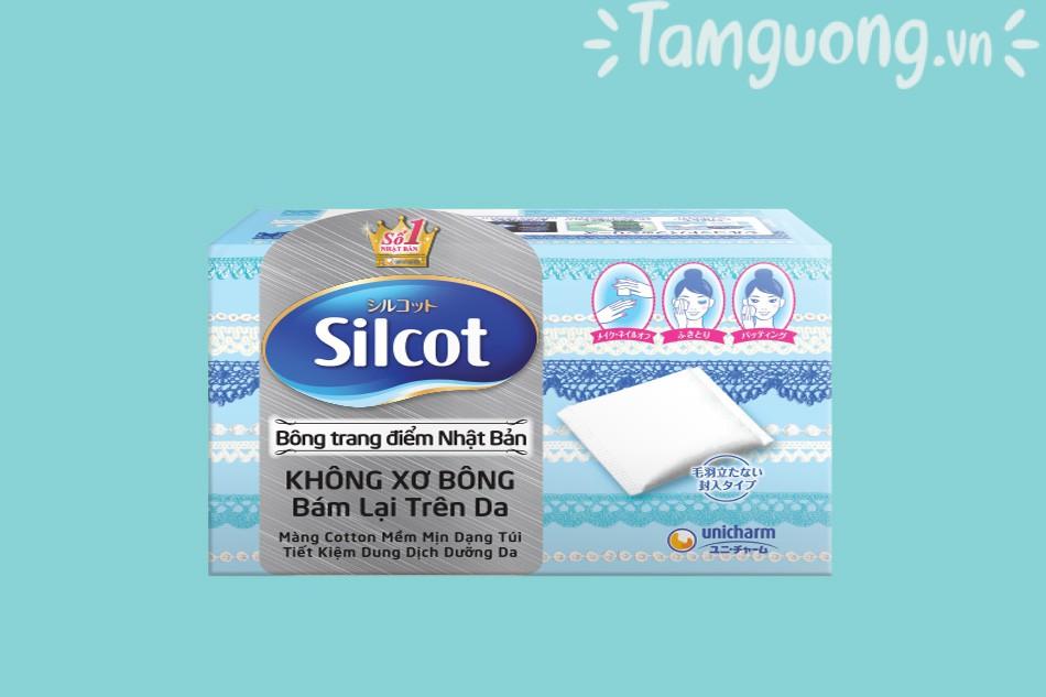 Bông tẩy trang Nhật Silcot
