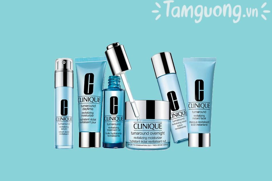 Các dòng sản phẩm của Clinique