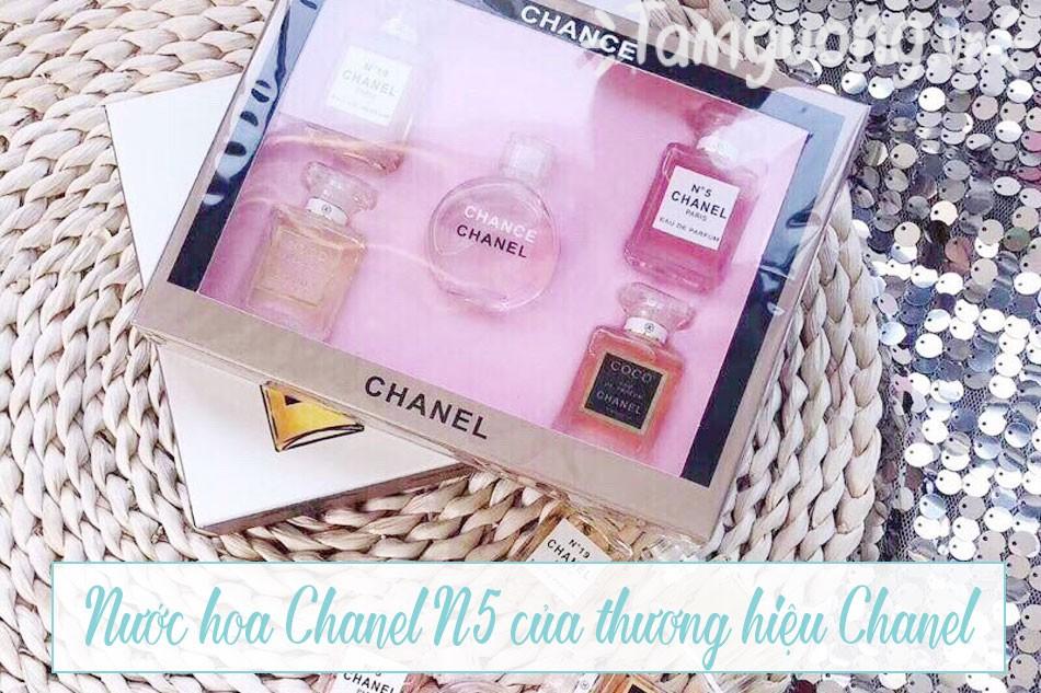 Nước hoa Chanel No5 của thương hiệu Chanel