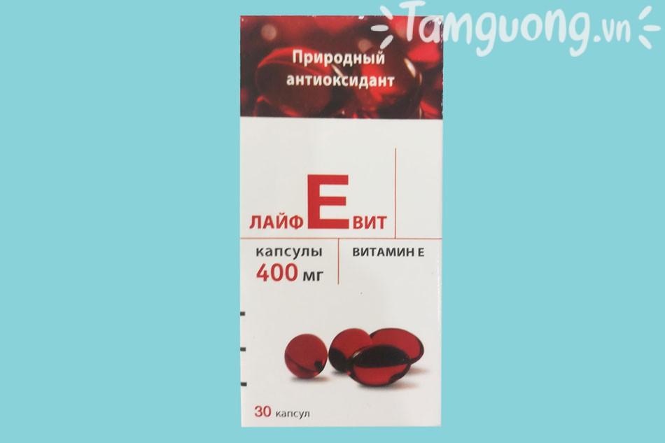 Vitamin E đỏ Nga giá bao nhiêu?