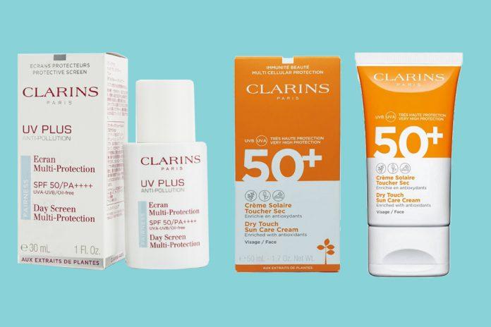 Kem chống nắng Clarins