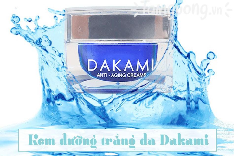 Kem dưỡng trắng da Dakami