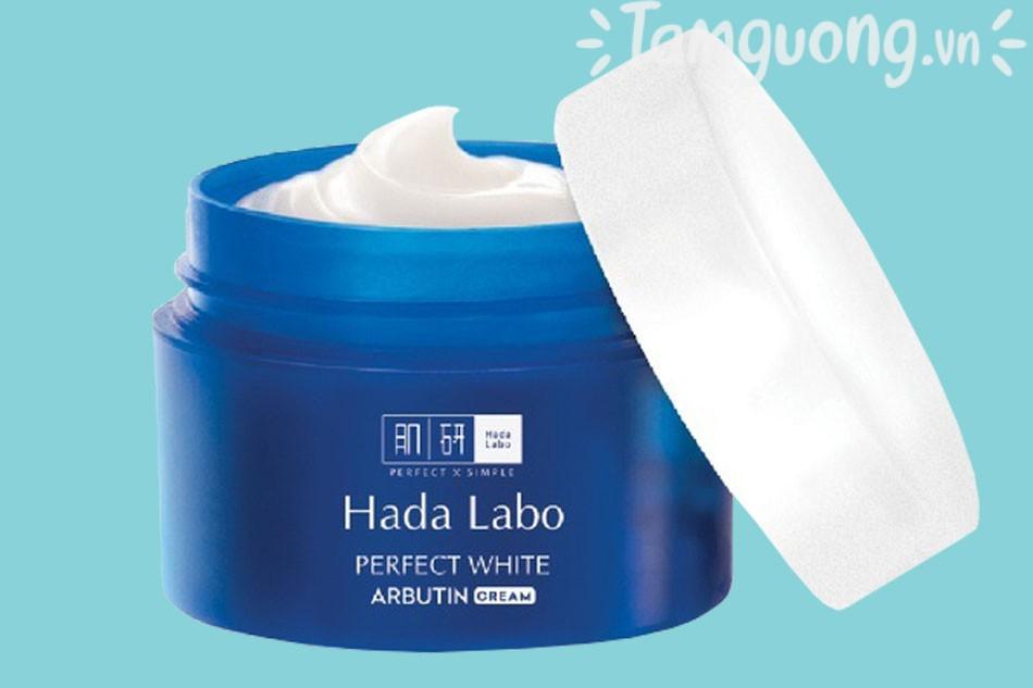 Kem dưỡng trắng da Hada Labo Perfect White của Nhật Bản